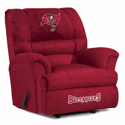 NFL Big Daddy Manual Recliner NFL Team: Tampa Bay Buccaneers