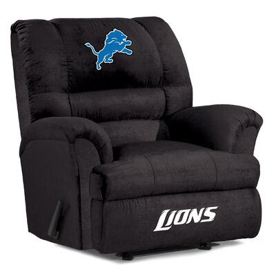 NFL Big Daddy Manual Recliner NFL Team: Detroit Lions