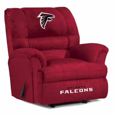 NFL Big Daddy Manual Recliner NFL Team: Atlanta Falcons