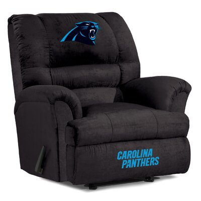 NFL Big Daddy Manual Recliner NFL Team: Carolina Panthers