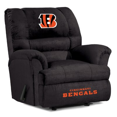 NFL Big Daddy Manual Recliner NFL Team: Cincinnati Bengals