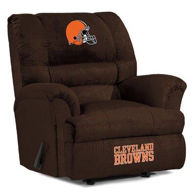 NFL Big Daddy Manual Recliner NFL Team: Cleveland Browns