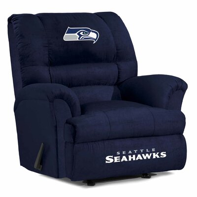NFL Big Daddy Manual Recliner NFL Team: Seattle Seahawks