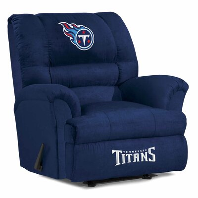 NFL Big Daddy Manual Recliner NFL Team: Tennesse Titans