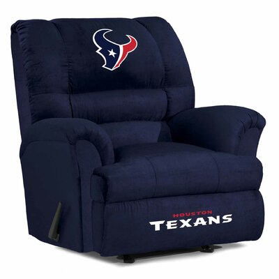 NFL Big Daddy Manual Recliner NFL Team: Houston Texans