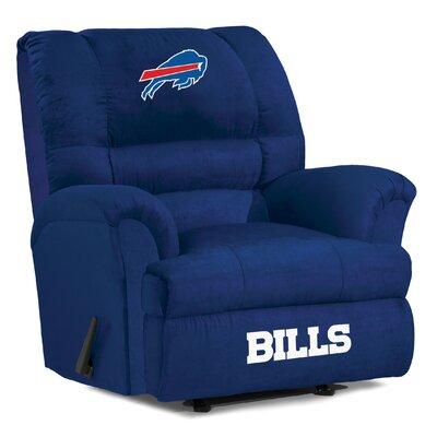 NFL Big Daddy Manual Recliner NFL Team: Buffalo Bills
