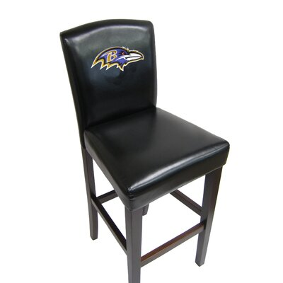 NFL 29.5 Bar Stool NFL Team: Baltimore Ravens