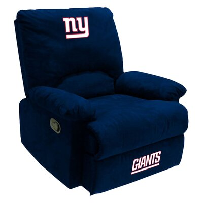 NFL Manual Recliner NFL Team: New York Giants
