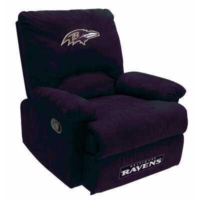 NFL Manual Recliner NFL Team: Baltimore Ravens