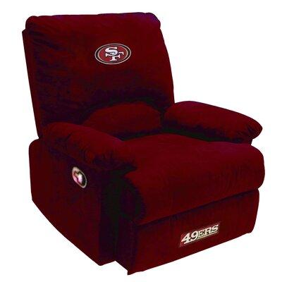 NFL Manual Recliner NFL Team: San Francisco 49ers