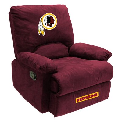 NFL Manual Recliner NFL Team: Washington Redskins