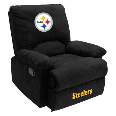 NFL Manual Recliner NFL Team: Pittsburg Steelers