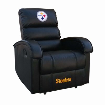 NFL Power Recliner NFL Team: Pittsburg Steelers