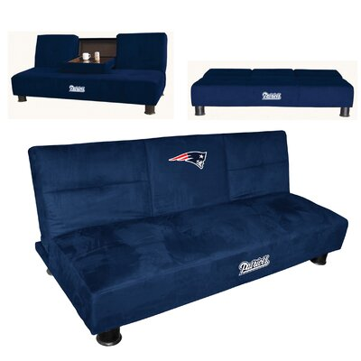 NFL Convertible Sofa NFL Team: New England Patriots