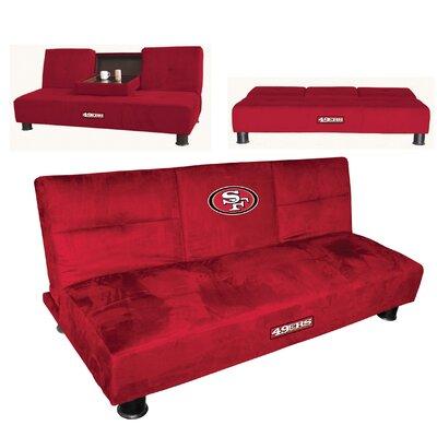 NFL Convertible Sofa NFL Team: San Francisco 49ers