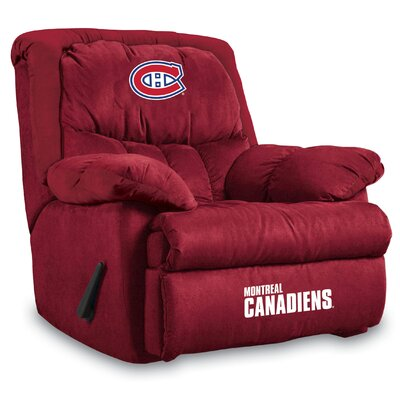 NFL Home Team Manual Recliner NHL Team: Montreal Canadians