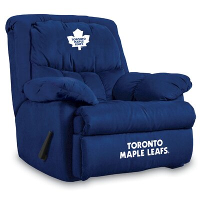 NFL Home Team Manual Recliner NHL Team: Toronto Maple Leafs