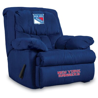 NFL Home Team Manual Recliner NHL Team: New York Rangers