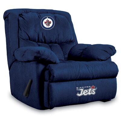NFL Home Team Manual Recliner NHL Team: Winnipeg Jets
