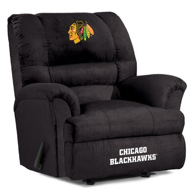 NFL Big Daddy Manual Recliner NHL Team: Chicago Blackhawks
