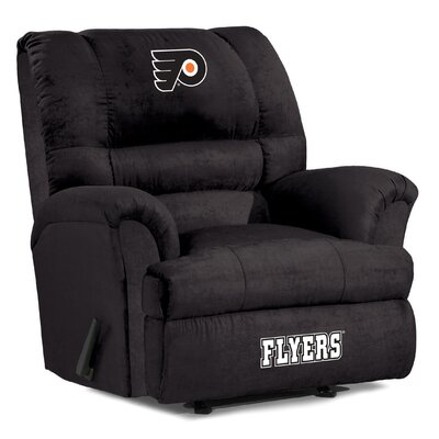 NFL Big Daddy Manual Recliner NHL Team: Philadelphia Flyers