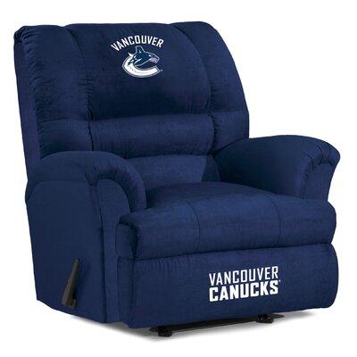 NFL Big Daddy Manual Recliner NHL Team: Vancouver Canucks