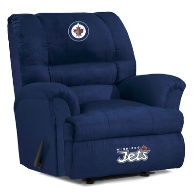 NFL Big Daddy Manual Recliner NHL Team: Winnipeg Jets