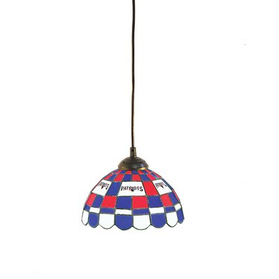 NFL 1-Light Bowl Pendant NFL Team: New England Patriots