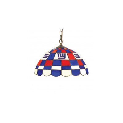 NFL 2-Light Bowl Pendant NFL Team: New York Giants
