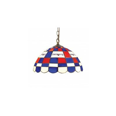 NFL 2-Light Bowl Pendant NFL Team: New England Patriots