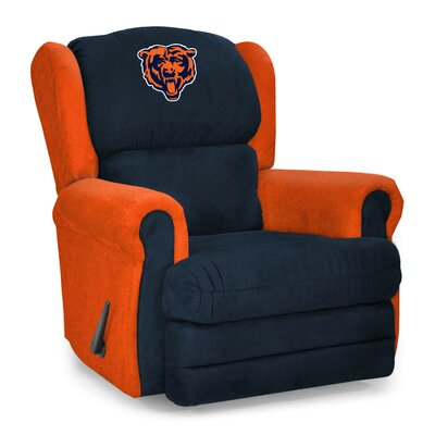 NFL COS Coach Manual Recliner NFL Team: Chicago Bears