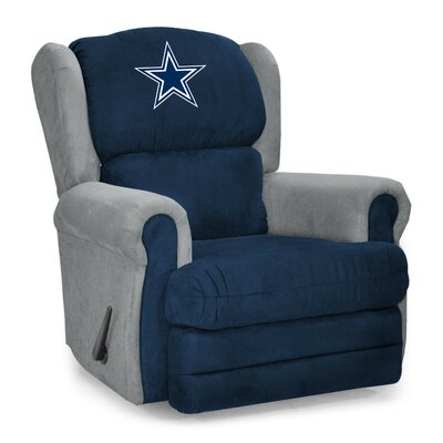 NFL COS Coach Manual Recliner NFL Team: Dallas Cowboys