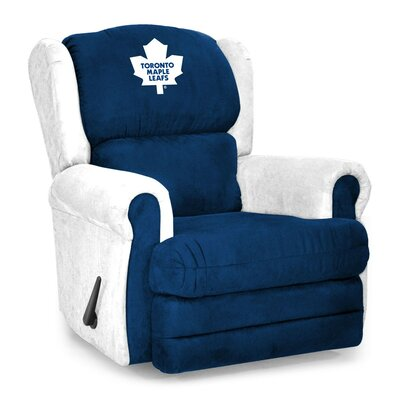 NHL Coach Manual Recliner NHL Team: Toronto Maple Leafs