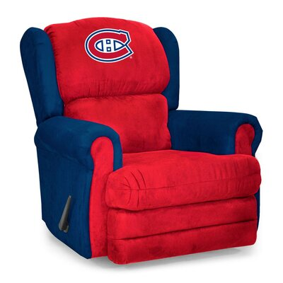 NHL Coach Manual Recliner NHL Team: Montreal Candien