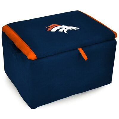 NFL Upholstered Storage Ottoman NFL Team: Denver Broncos