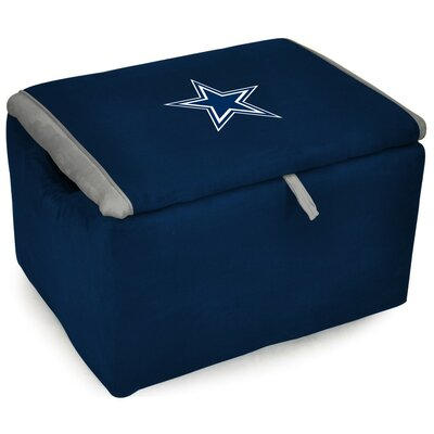 NFL Upholstered Storage Ottoman NFL Team: Dallas Cowboys