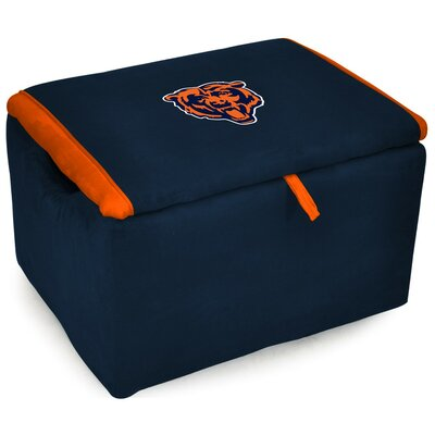 NFL Upholstered Storage Ottoman NFL Team: Chicago Bears
