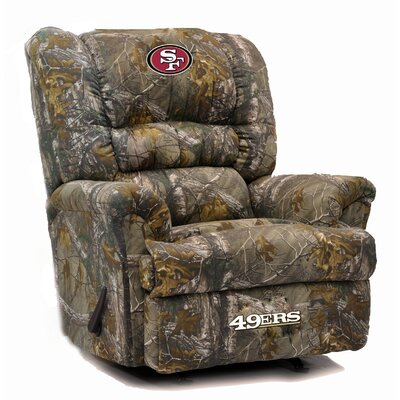 Big Daddy Recliner NFL Team: San Francisco 49ers