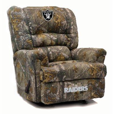 Big Daddy Recliner NFL Team: Oakland Raiders