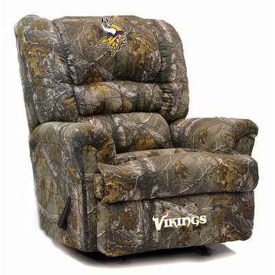 Big Daddy Recliner NFL Team: Minnesota Vikings