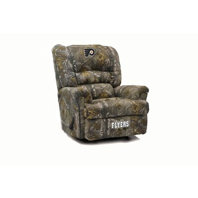 Big Daddy Camo Recliner NHL Team: Philadelphia Flyers�
