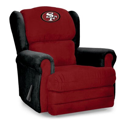 Coach Recliner NFL Team: San Francisco 49ers