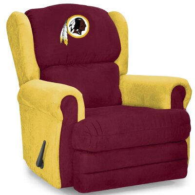 Coach Recliner NFL Team: Washington Redskins