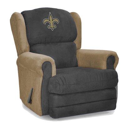 Coach Recliner NFL Team: New Orleans Saints