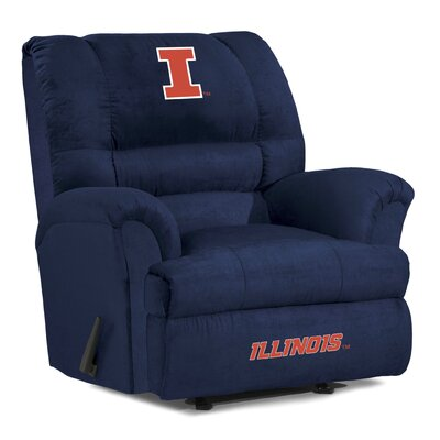Big Daddy Recliner NCAA Team: University of Illinois