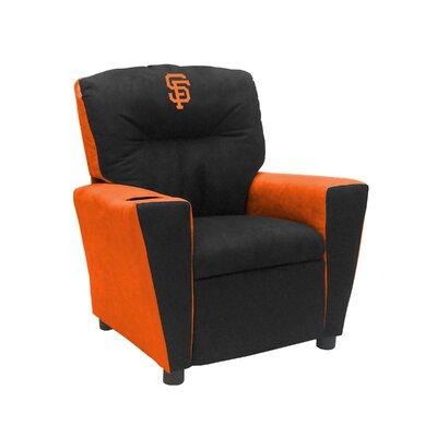 Kids Fan Favorite Recliner MLB Team: San Francisco Giants