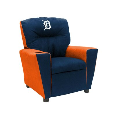 Kids Fan Favorite Recliner MLB Team: Detroit Tigers