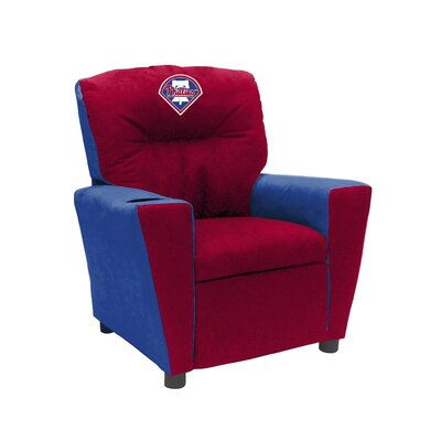 Kids Fan Favorite Recliner MLB Team: Philadelphia Phillies