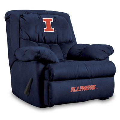 NCAA Home Team Recliner NCAA Team: University of Illinois