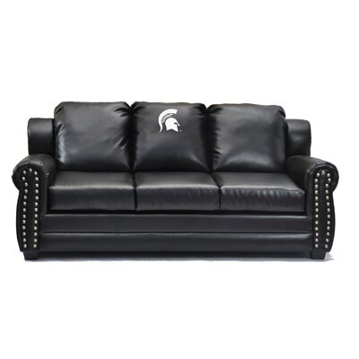 NCAA Coach Leather Sofa College Team: Ohio State